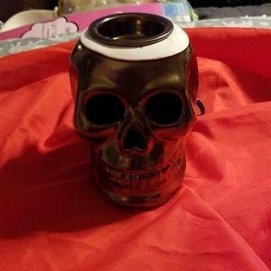 Golden skull light up warmer